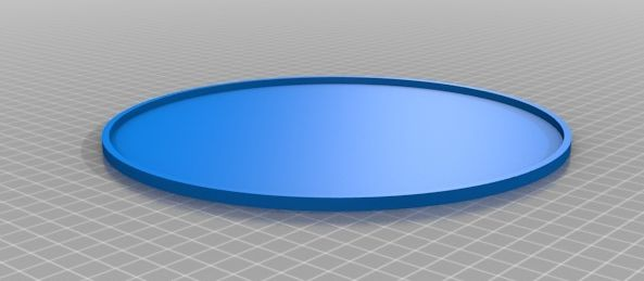 Ciclop basisplaat matje model