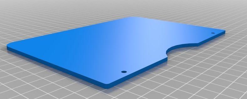 Ciclop kalibratie plaat model