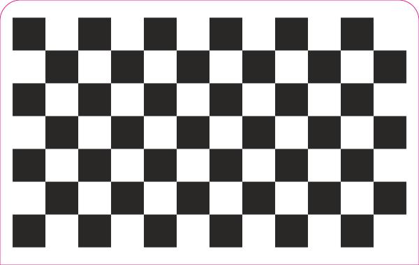 Ciclop kalibratie plaat patroon