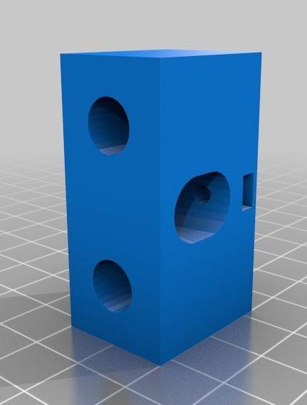 Ciclop laser houder 10mm instelbaar 10 graden