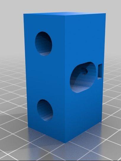 Ciclop laser houder 10mm instelbaar 15 graden