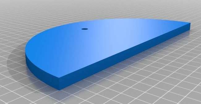 Ciclop onderdeel basisplaat in 2 delen model 01