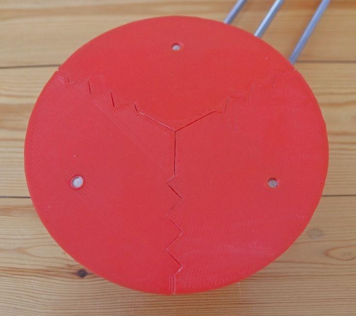 Ciclop onderdeel basisplaat in 3 delen foto