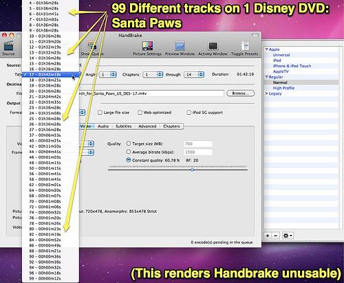 Video Transcoder - HandBrake - Presets en instellingen