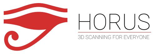 Horus 3D scanning banner
