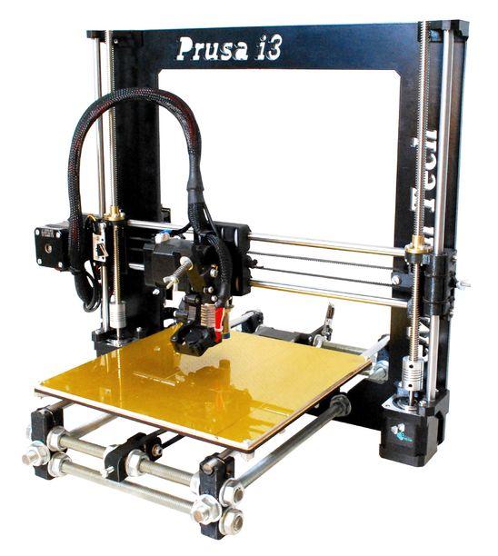 Prusa i3 Rework 1.5 voorkant afgemonteerd