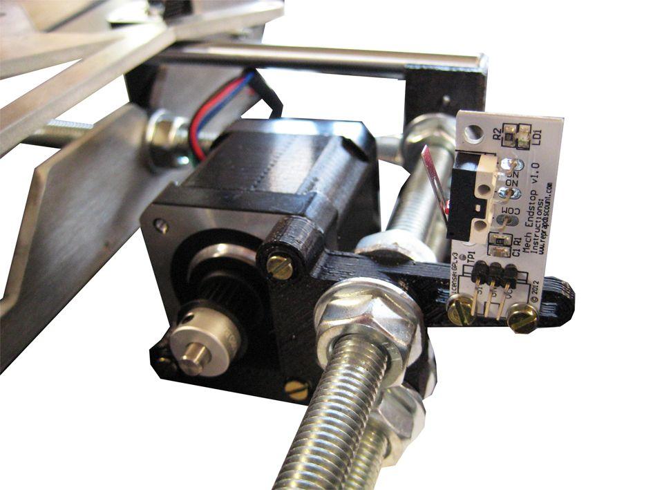 Prusa i3 Rework Motor assembly 06