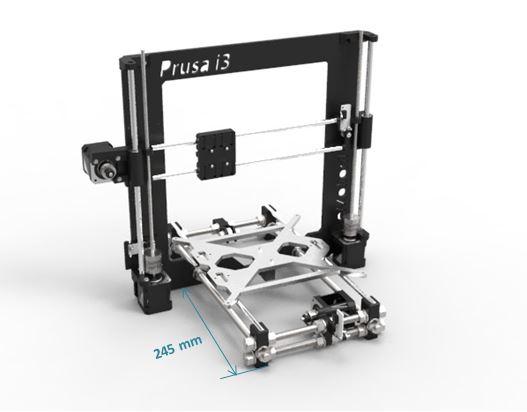 Prusa i3 Rework Motor assembly 08