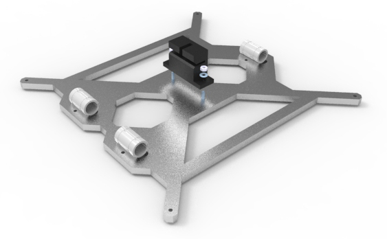 Prusa i3 Rework heated bed mount
