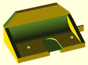 Prusa i3 onderdeel Greg-adapter