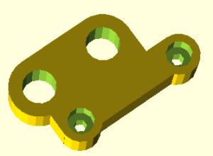 Prusa i3 onderdeel Y motor