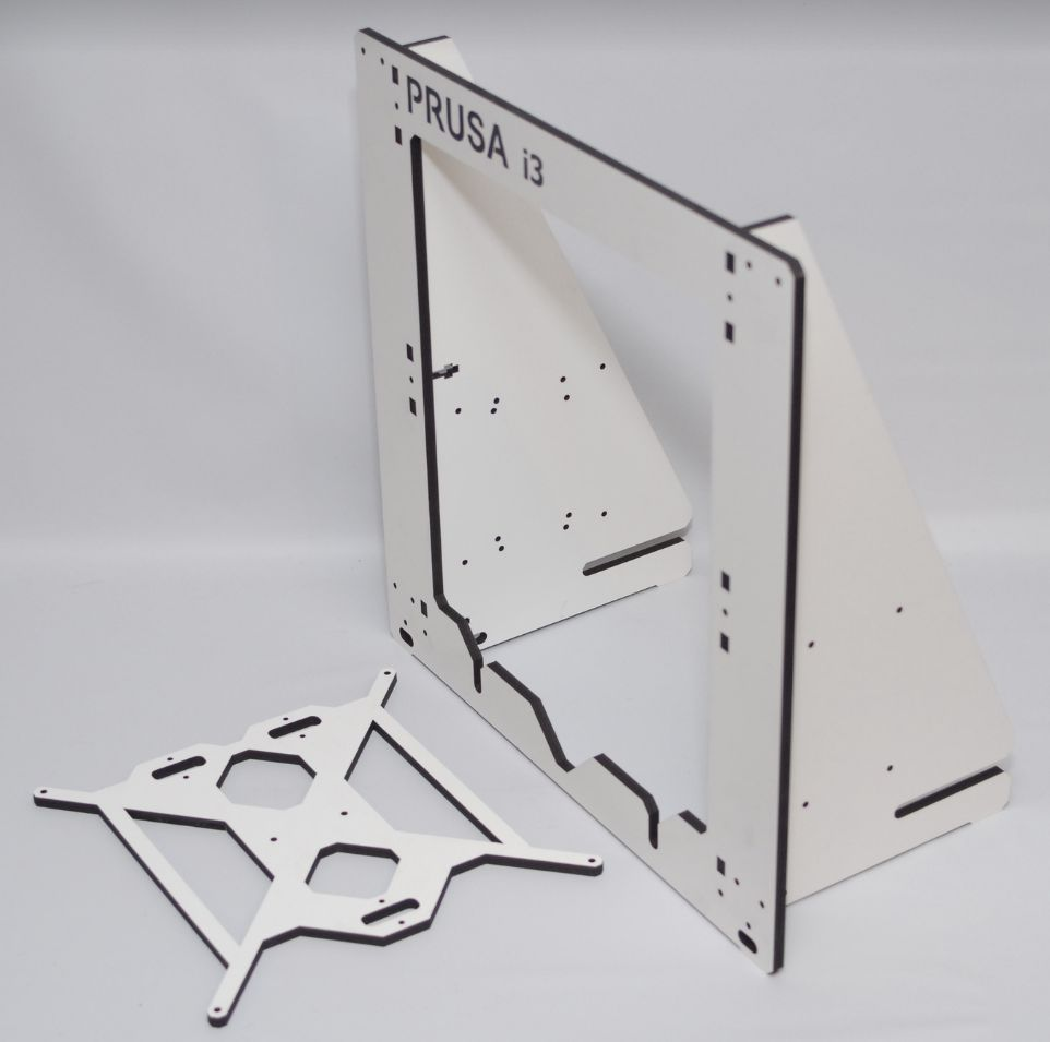Prusa i3 wood frame 03