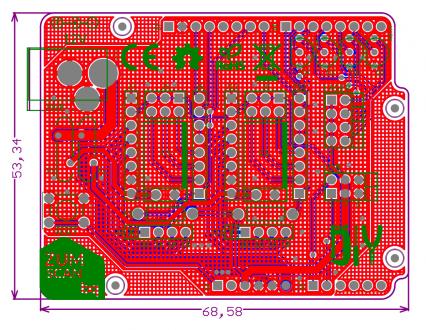 ZUM scan PCB