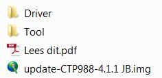 cresta firmware bestanden