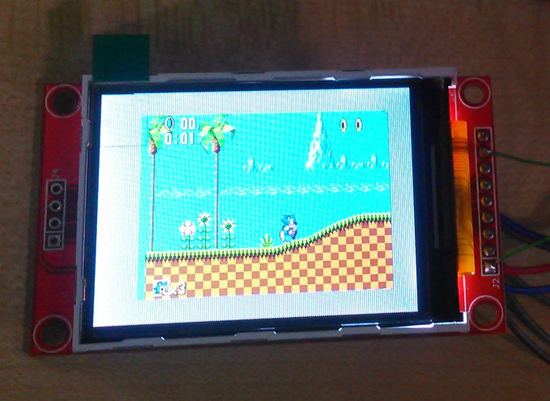 ESP32 Project - Emulator - Sega Master System