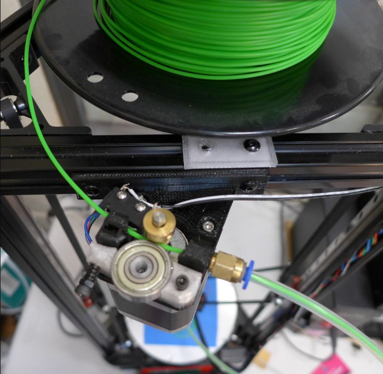 3D Printer - Extruder - Angled Bowden Extruder