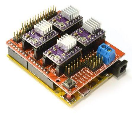 Stappenmotor aansturing module DRV8825
