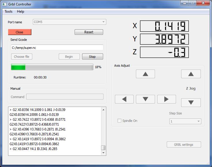 Mechanica Software – GRBL Controller