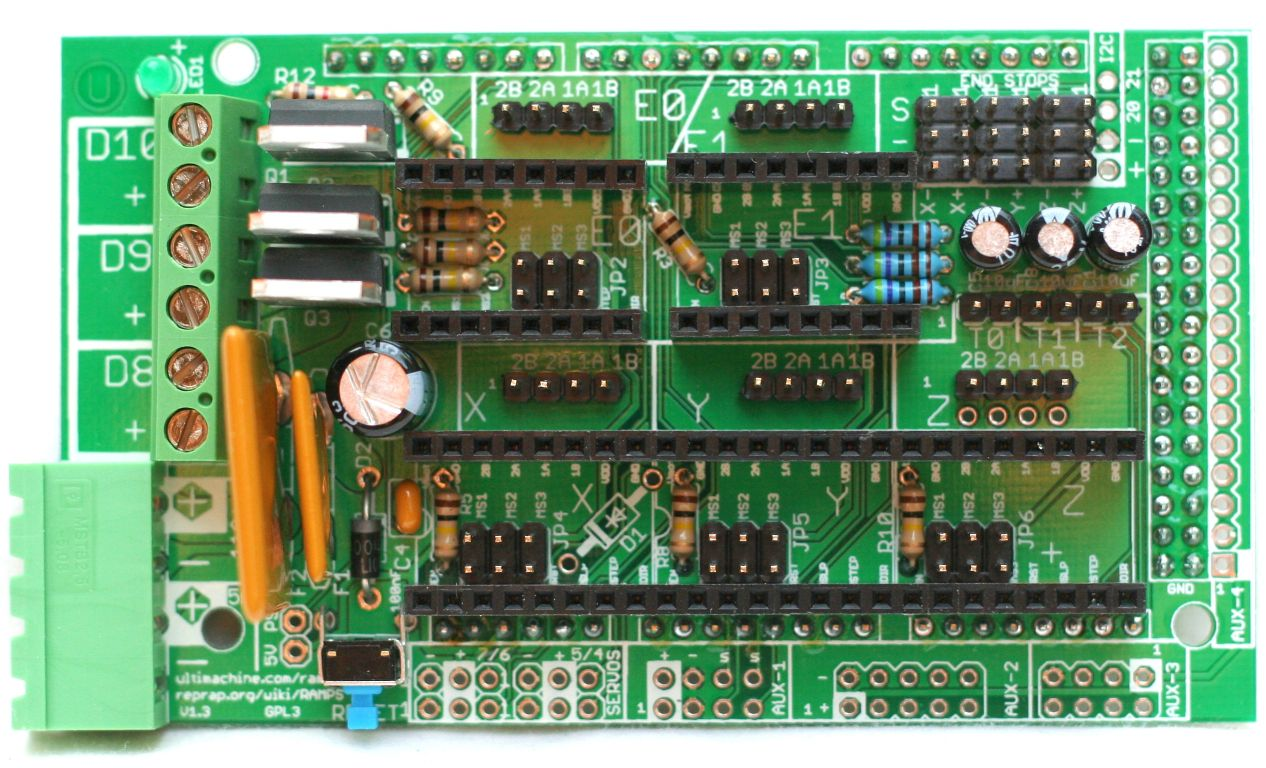 Arduino MEGA Shield - RAMPS