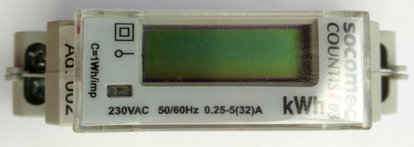 Modbus - KWh meter - Socomec Countis E03