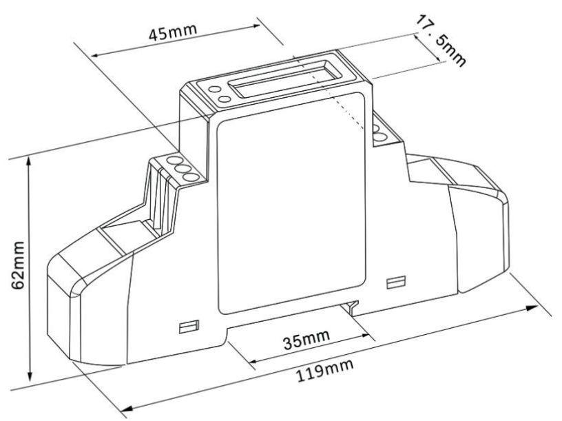 Modbus - KWh meter - Eastron SDM120