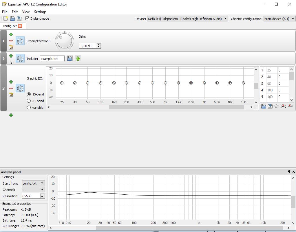 Equalizer - EqualizerAPO (software)