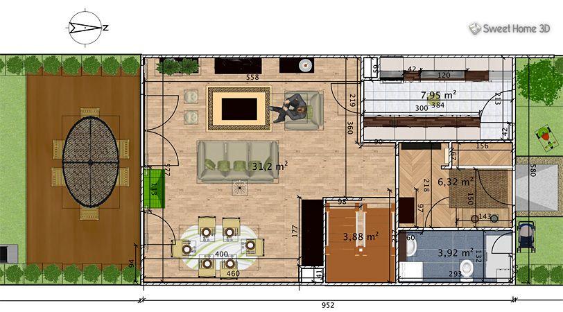 3d ontwerp sweet home 3d software for Wohnungseinrichtung shop