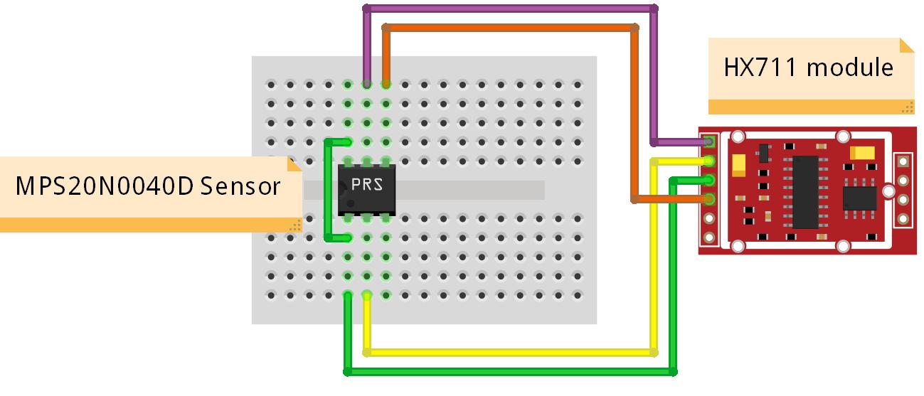 Module - HX711 - Wheatstone brug A/D converter